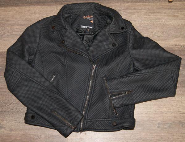 Funk'N'Soul kurtka czarna Ramoneska r. S/36