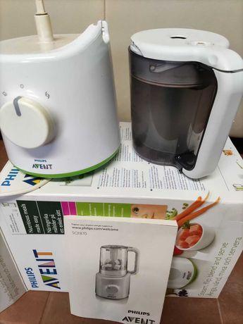 Robot cozinha primeiras comidas bebé Philips Avent SCF870