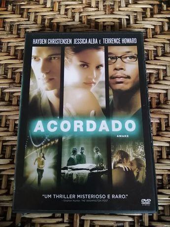 DVD Acordado, com Hayden Christensen e Jessica Alba