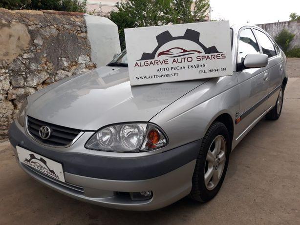 Toyota Avensis 2.0 D-4D 2002, Avensis Verso 2.0 D-4D 2004 Para Peças