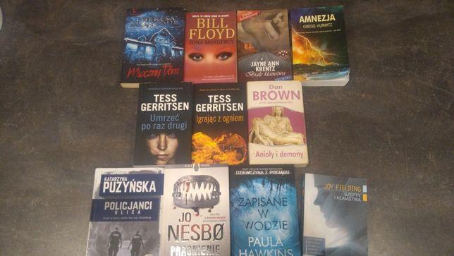 Książki thrillery, kryminalne
