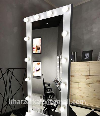 Зеркало с подсветкой во весь рост.