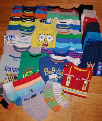 Zestaw ubrań dla chłopca roz.98-104