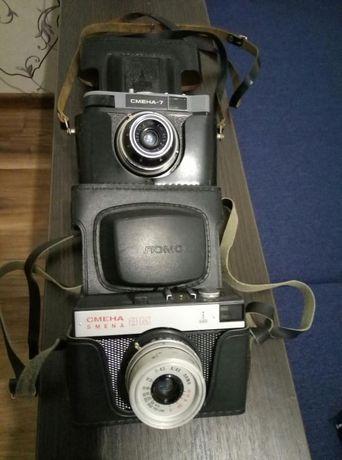 Продам фотоаппараты Смена7 и Смена8М
