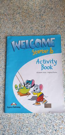 Тетради для английского 1 класса Welcome