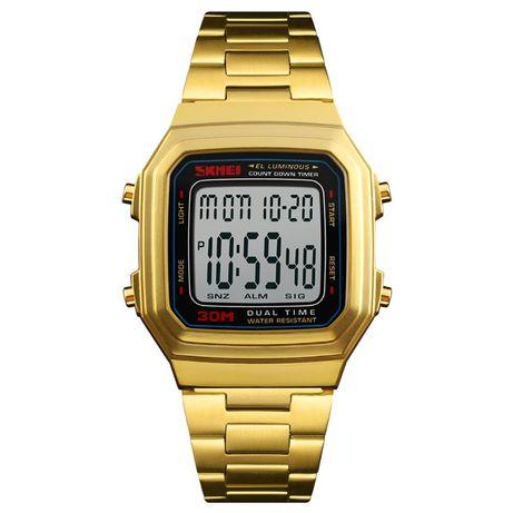 Часы Skmei 1337BOXGBK Gold Black BOX