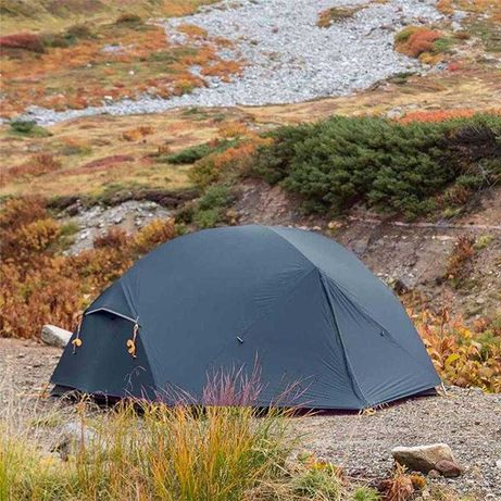 !NEW Палатка намет Naturehike Mongar 2 синяя 15D silicone + футпринт