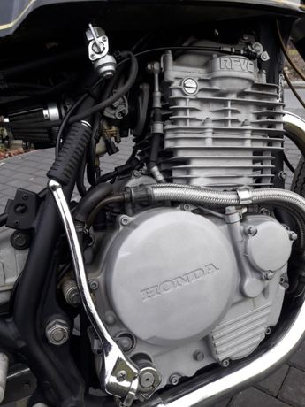 Motocykl (motor) Honda Cafe Race (sport, chopper) zamiana zamienię