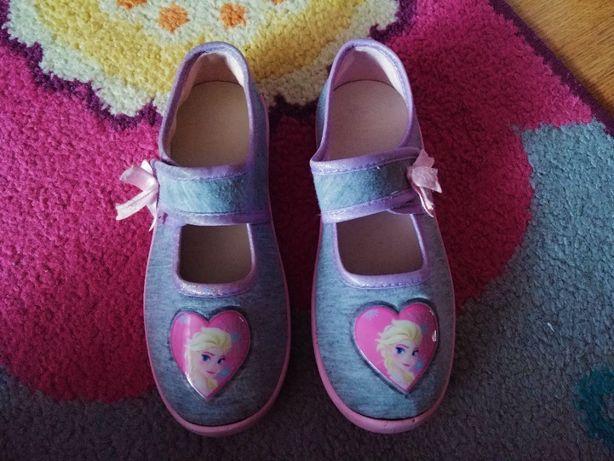 Kapcie, papucie, obuwie zmienne dla dziewczynki Kraina Lodu Elsa r 30
