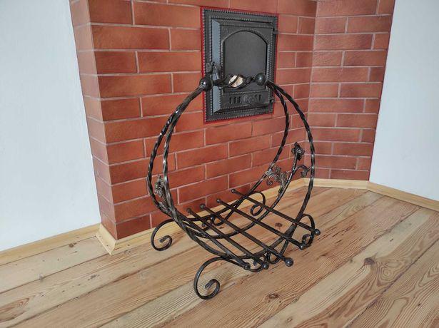 Кошик для дров корзина декоративна декор художня ковка полінниця