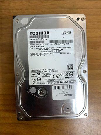 "HDD, жесткий диск TOSHIBA 1TB 3,5""- SATA ІІІ 7200 RPM 32 MB"