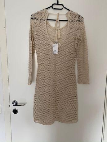 Plażowa sukienka H&M nowa z metką XS/34
