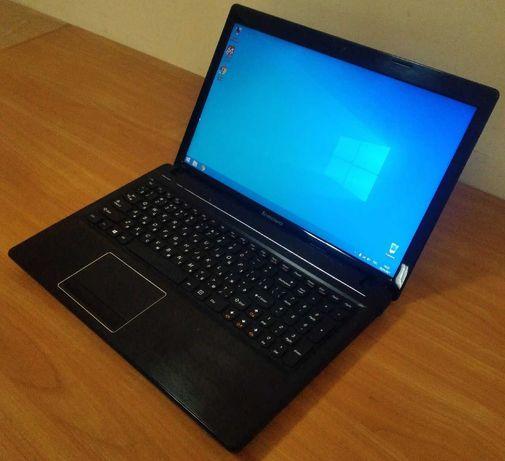 Офисный ноутбук Lenovo в хорошем состоянии 9900 рублей