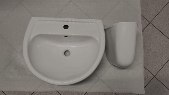 Umywalka Koło IDOL 55 cm + Półpostument