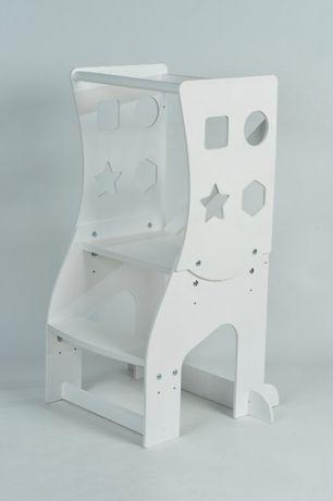 Стул башня Монтессори 3в1 , kitchen helper, стульчик подставка детская