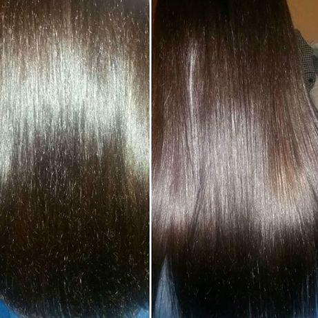 Полировка волос, удаление посеченных кончиков