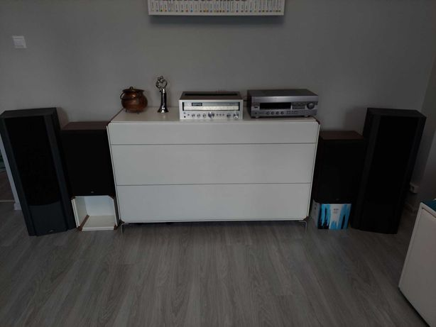 Zestaw Amplituner Yamaha RX-396RDS+kolumny CD Referenz R-360 Ideał!
