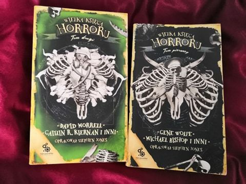 """""""Wielka księga horroru"""" część 1 i 2 NOWE"""