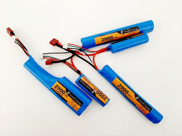 Аккумулятор Li-Ion 11,1V 2900mAh для страйкбола airsoft привода cyma