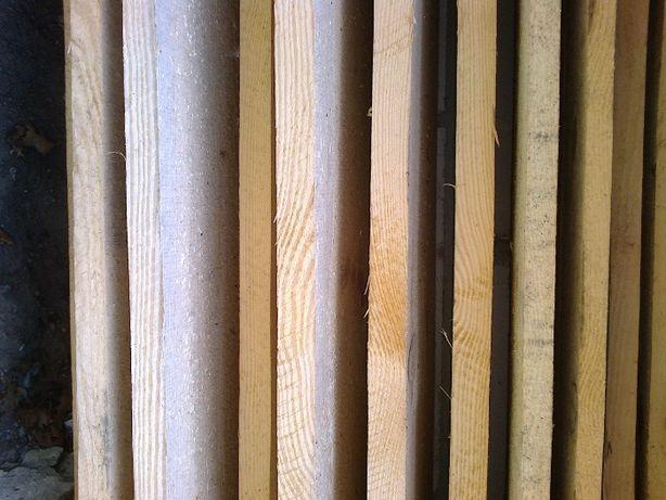 Bale Deski Sosnowe suche wy sezonowane grubość 4 cm