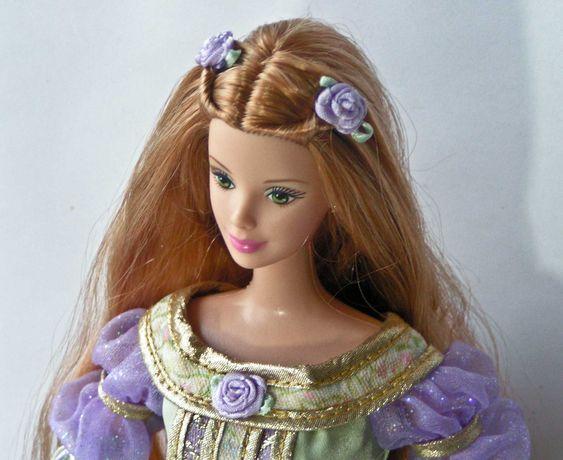 Lalka Barbie  Księżniczka na ziarnku grochu, Kolekcjonerska.