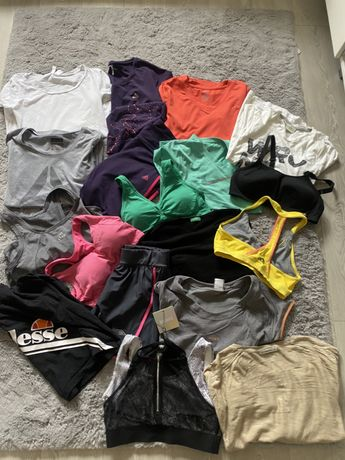 Zestaw ubran sportowych Adidas Ellesse Missguided United colors of ben