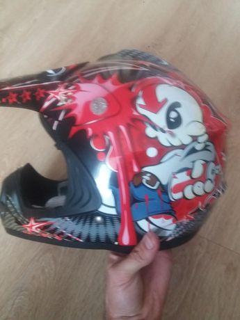 Детский шлем кроссовый сертифицирован xxxs