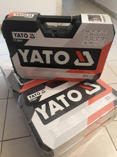 Професійний набір ключів YATO Yt-38841 216 ел. POLAND! ОРИГІНАЛ!