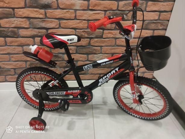 "PROMO:Rowerek dziecięcy 12"", 16"" +GRATIS:prowadnik"