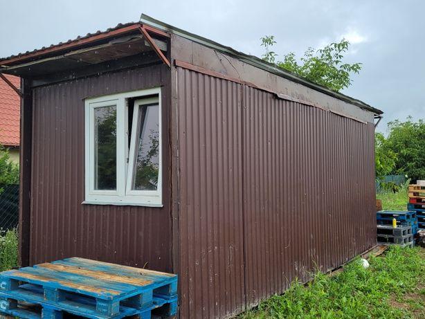 Kontener 15m2 barak kiosk domek holenderski pawilon 4haki do hds