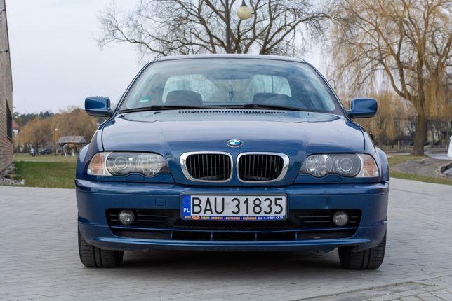 BMW e46 318ci 2001 *półskóra*