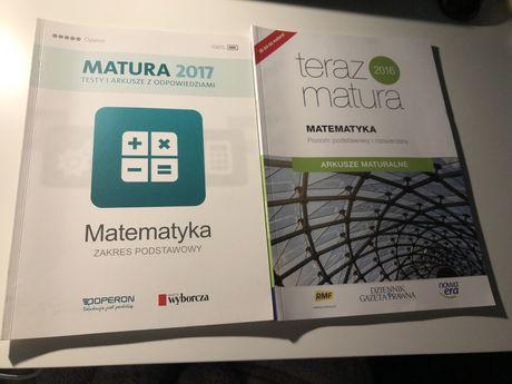 Arkusze maturalne- matematyka podstawowa