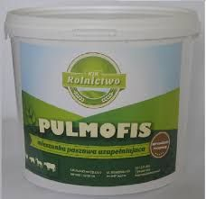 Pulmofis - ziołowy dodatek paszowy BEZKARENCYJNY na kaszel