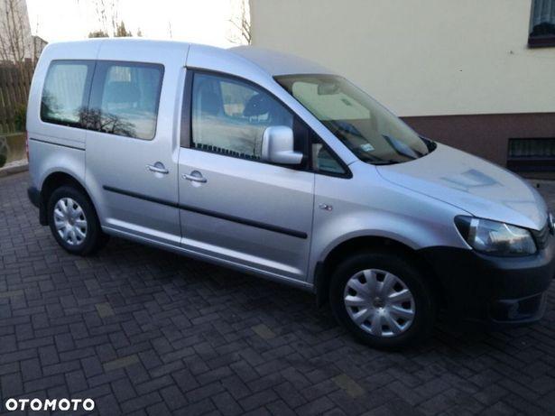 Volkswagen Caddy Stan IDEALNY 2011 CNG pl salon dwoje drzwi przesuwnych