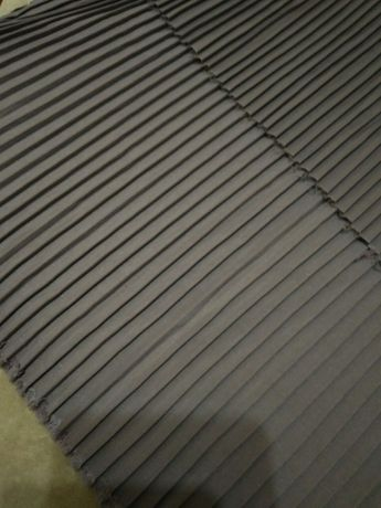 Отрез плащевой ткани плиссированной.Корея
