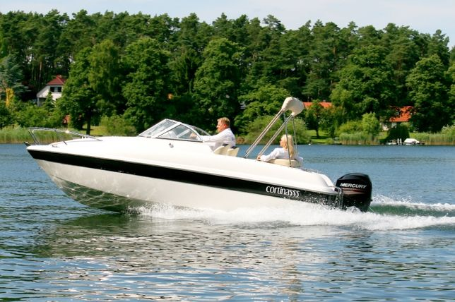 Nowa łódź motorowa kabinowa - Cortina 555 mboats