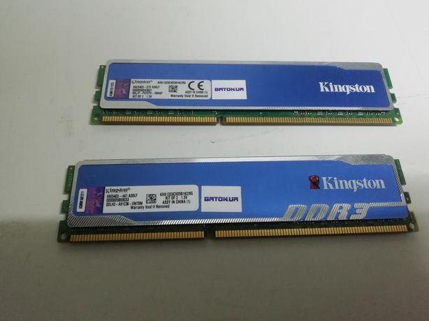 Модуль памяти DDR3 4gb (2 x 2Gb)1600MHz Kingston HyperX Fury Blue