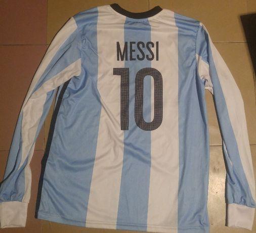 футболка Месси сборная Аргентины XS-S или детская 40см - плечи