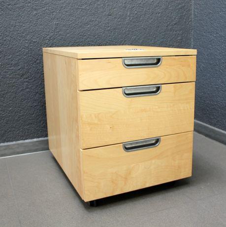 Ikea galant kontenery - komody na kółkach pod biurko duża ilość