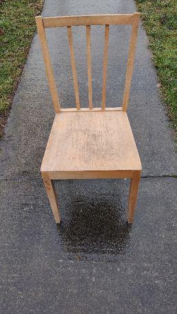 Krzesło drewniane gięte