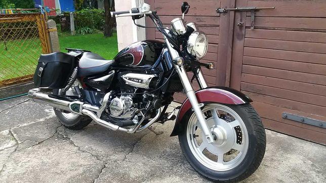 Motocykl Hyosung GV125 na kat.B