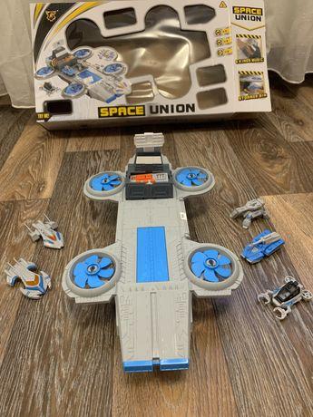 Классная игрушка!Новый военный корабль со звуковым эффектом