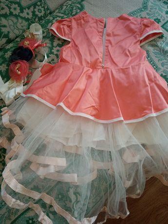 Платье на девочку 110 рост