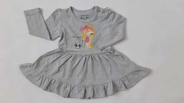 Платье для девочки 74, 80, 92, 98