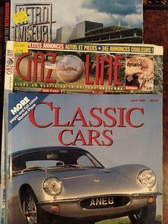 Revistas (3): Classic Cars, Gazoline e RetroViseur