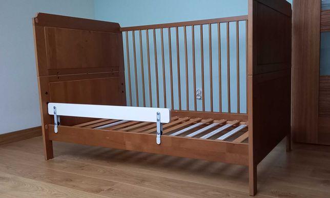 łóżeczko ikea dla dziecka + materac