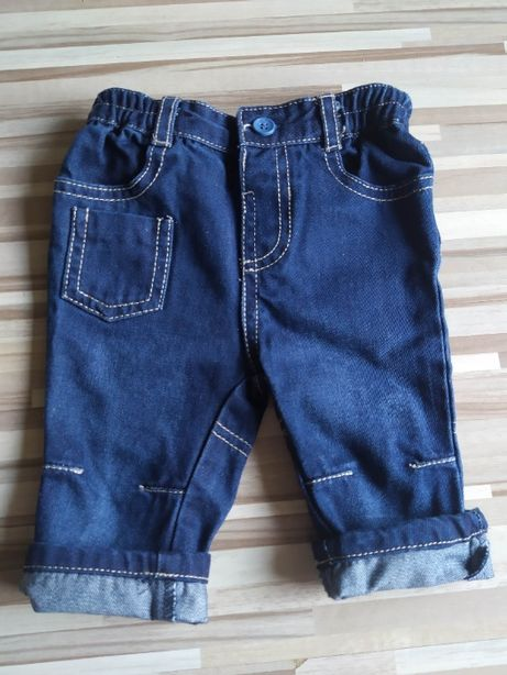 Jeansy niemowlęce Early Days rozmiar 3-6 miesięcy
