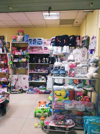 Продажа налаженного магазина детских и праздничных товаров