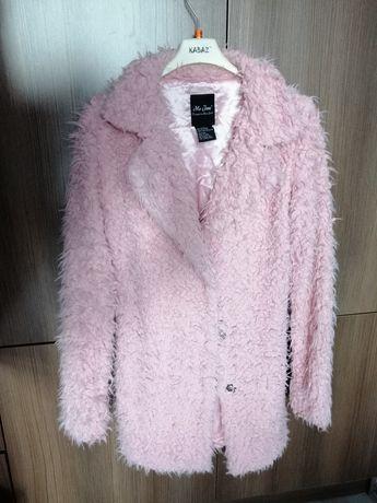 Kożuszek płaszczyk miś narzutka kurtka