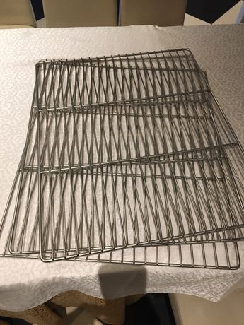 Полка-решетка холодильного шкафа нержавейка (НОВЫЕ)Gn 2/1 530/640 мм